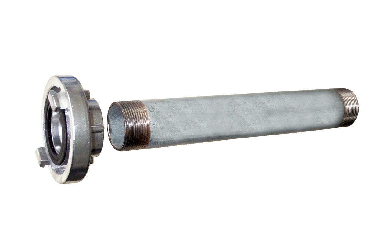 "Vinkeltilkobling 1 1/2"" med forlengelsesrør 300 mm (0903019352)"