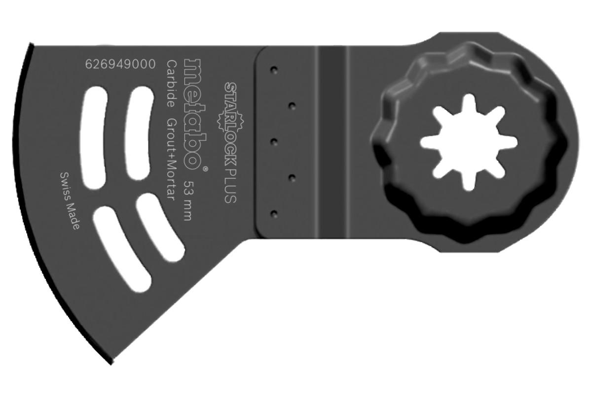 """Sagblad """"Starlock Plus"""" E, karbid, 40 x 53 mm (626949000)"""