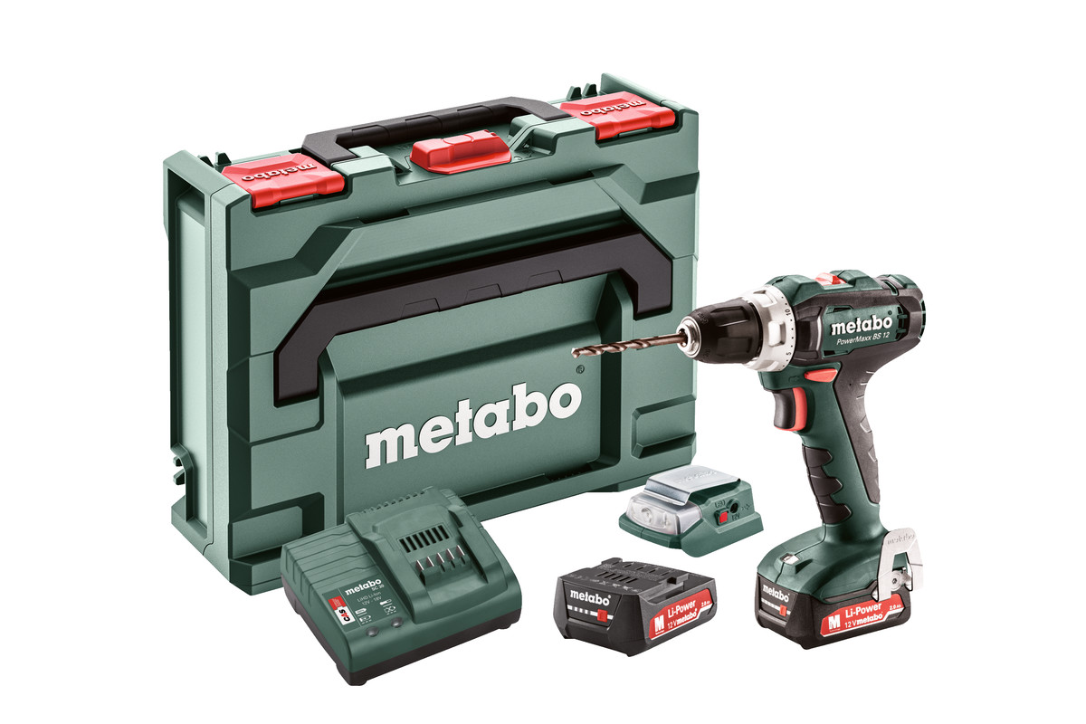 Set PowerMaxx BS 12 (601036910) Batteribor-skrutrekkere