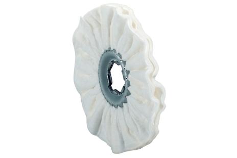8 Fleece poleringsringer myke, 100x10 mm (623509000)