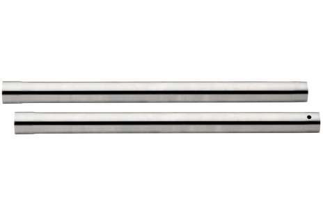 2 sugerør D-35 mm, L-0,4 m, forkrommet (631363000)