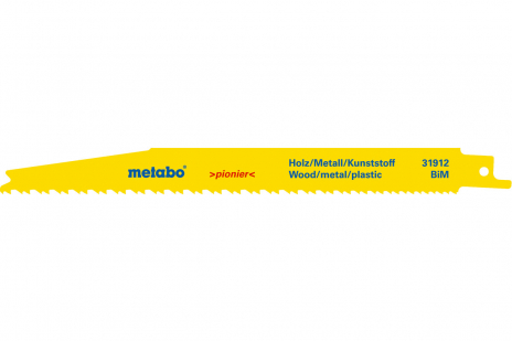 5 Sabelsagblad, H+M, pionier,200x1,25 mm (631912000)