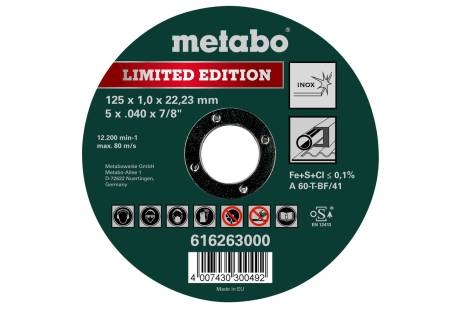 Limited Edition 125 x 1,0 x 22,23 mm, Inox, TF 41 (616263000)