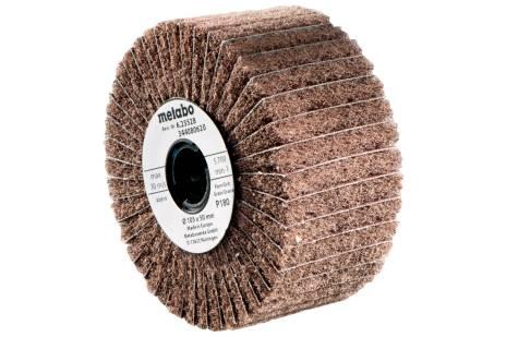 Lamell-/ fleece-slipehjul105x100 mm, P 60 (623483000)