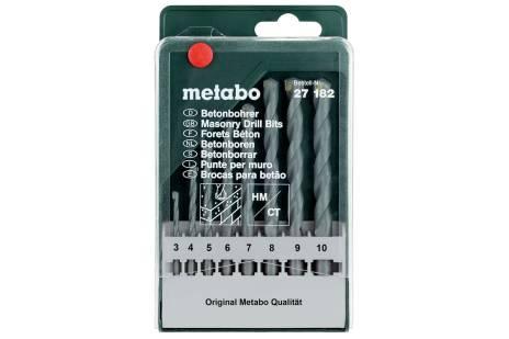 Betong-borkassett classic, 8 deler (627182000)