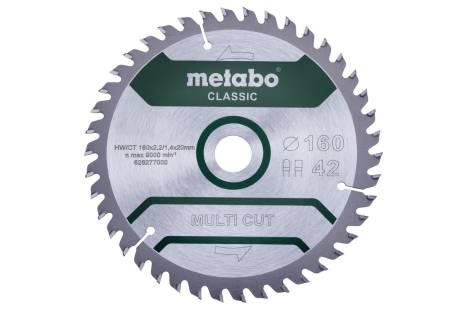 """Sagblad """"multi cut - classic"""", 160x20 Z42 FZ/TZ 5° (628277000)"""