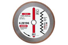 """Dia-TS, 150x1,7x22,23 mm, """"classic"""", """"TC"""", fliser (628194000)"""