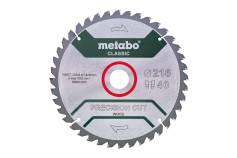 """Sagblad """"precision cut wood - classic"""", 216x30 Z40 WZ 5°neg /B (628652000)"""