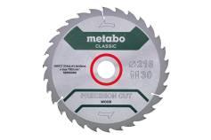 """Sagblad """"cordless cut wood - classic"""", 216x30 Z30 WZ 22° /B (628653000)"""