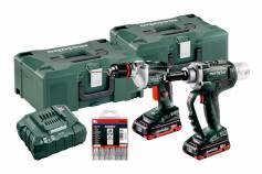 Set NP 18 LTX BL 5.0 + BE 18 LTX 6  (691084000) Batterimaskiner i sett