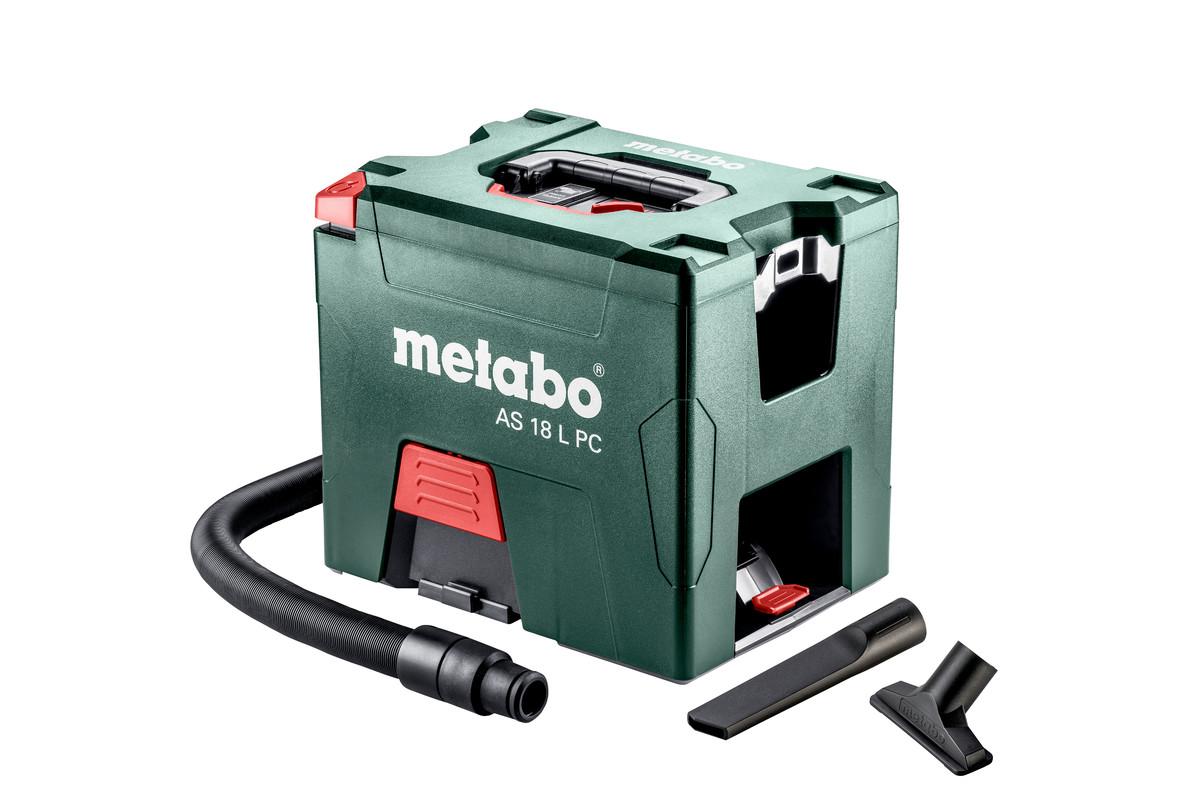 AS 18 L PC Metabo Støvsuger med batterier og lader | Staypro