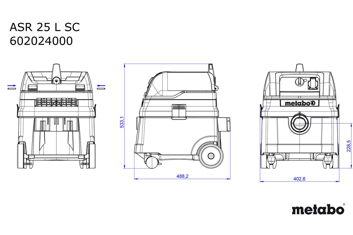 ASR 25 L SC (602024000, 47172720) Universalstøvsuger