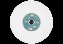 Backing pads for fibre sanding discs