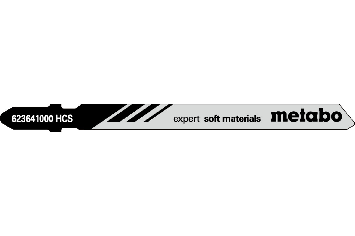 """5 Jigsaw blades """"expert soft materials"""" 74mm (623641000)"""