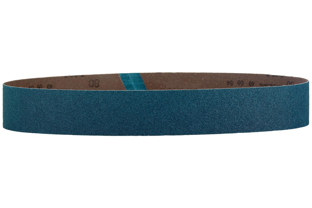 10 Sanding belts 40 x 760 mm, P80, ZK, RBS (626306000)