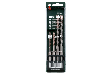 SDS plus Pro 4-drill bit set, 4 pieces (630580000)