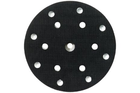 Backing pad 150 mm, medium, perforated, 6/8 holes (631150000)