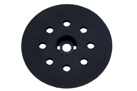 Backing pad 122 mm,medium,perforated,f. SXE 125 (631224000)
