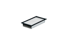 Pleated filter for 6.31981/ 6.25599/ 6.25598, polyester, SR (631980000)