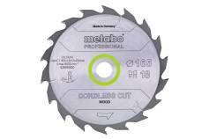 "Saw blade ""cordless cut wood - professional"", 160x20 (16), Z24 WZ 22° (628030000)"