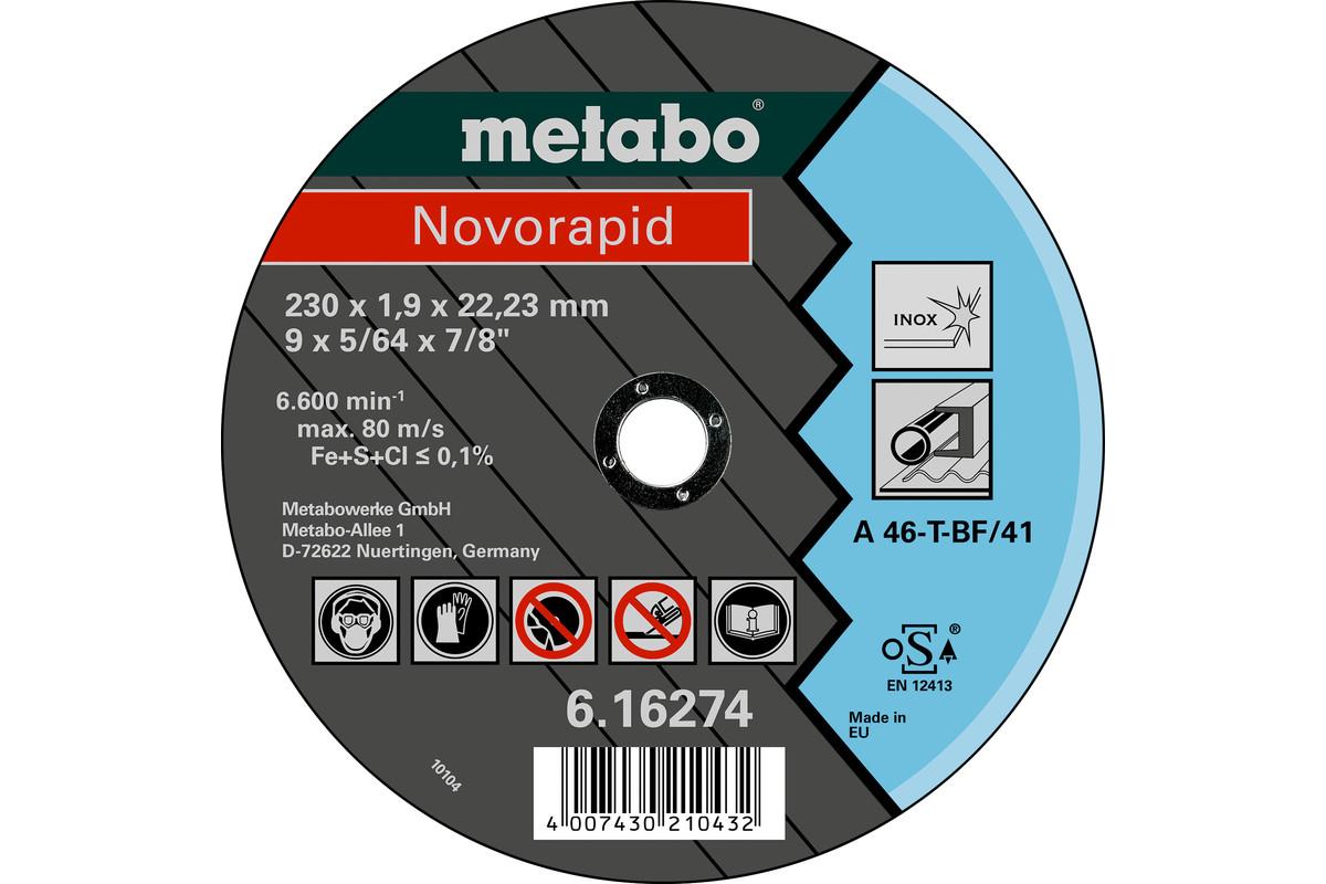 Novorapid 230 x 1,9 x 22,23 Inox, TF 41 (616274000)