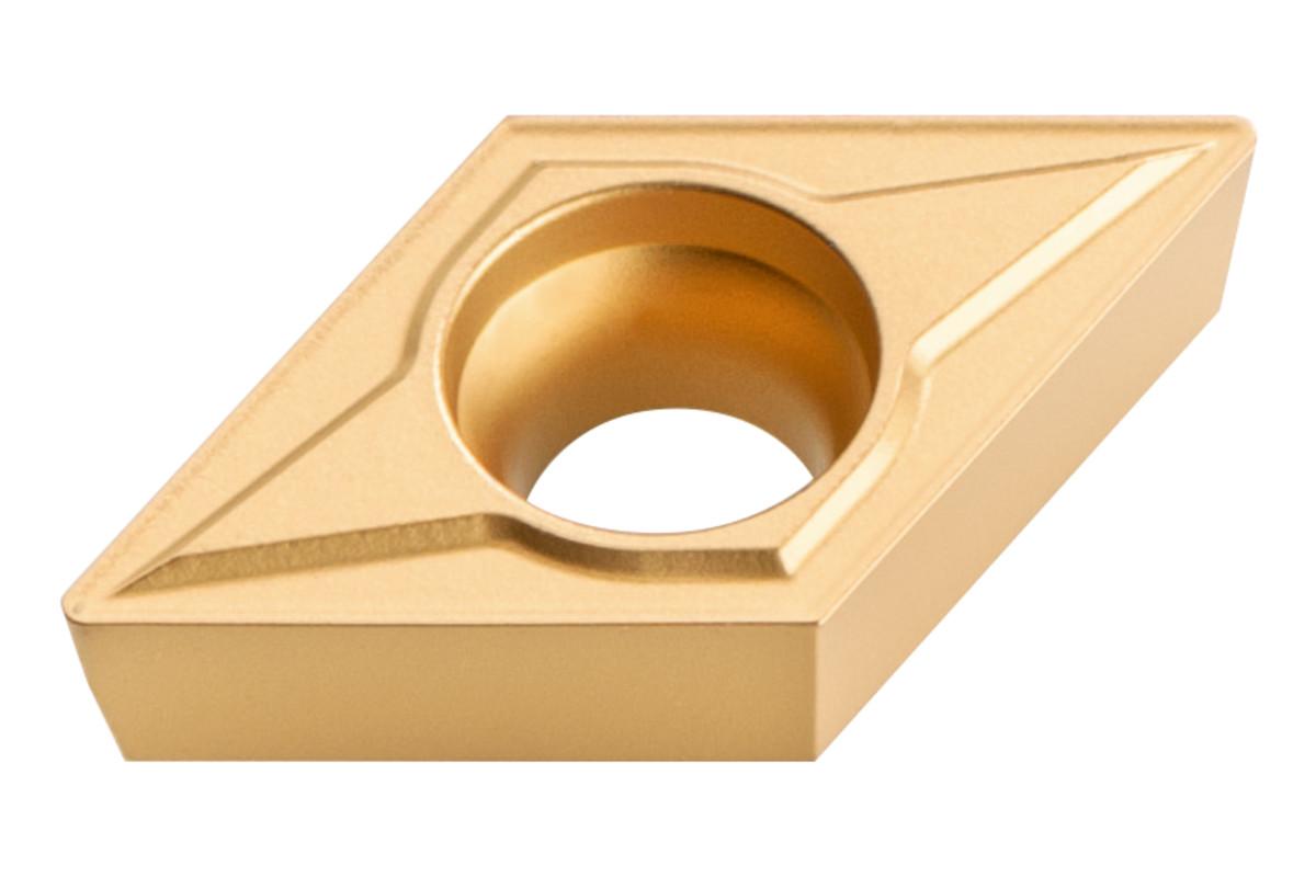 10 płytek wieloostrzowych z węglików spiekanych do fazy 45°; ISO: DCMT 11 T 304 (623560000)