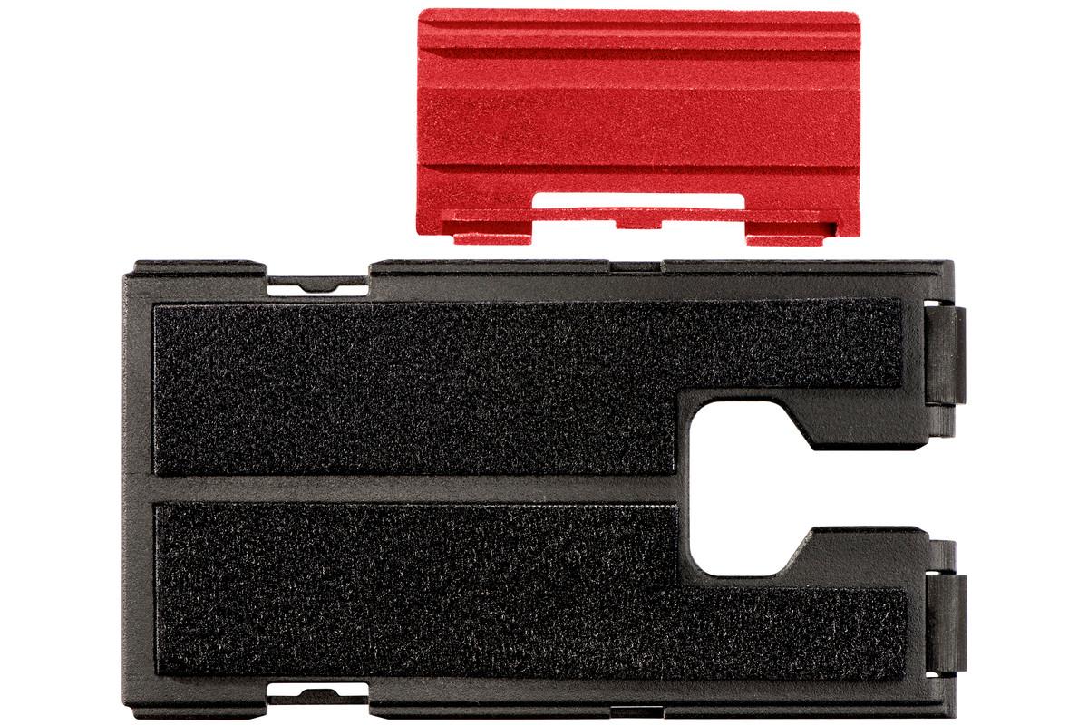 Płytka ochronna z tworzywa sztucznego z filcem, do wyrzynarki (623596000)