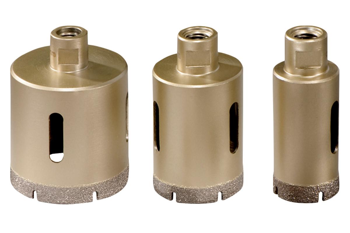 """Komplet diamentowych wierteł koronowych do glazury """"Dry"""", 3 elementy, M14 (628322000)"""