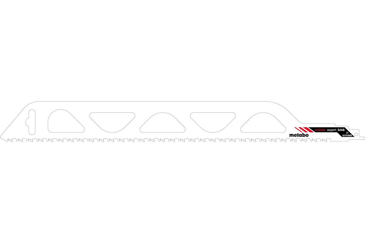 Brzeszczot szablasty, cegła murowa, expert, 455x1,5 mm (631918000)