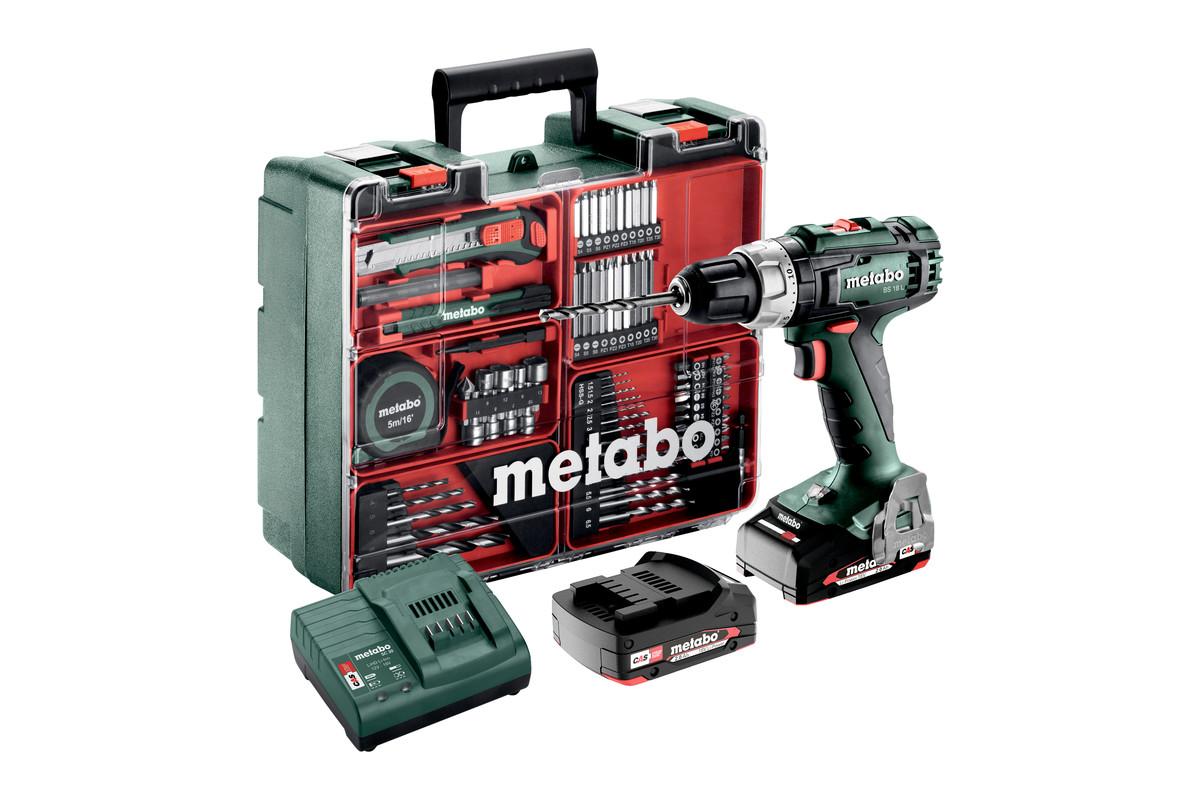 BS 18 L Set (602321870) Wiertarko-wkrętarka akumulatorowa