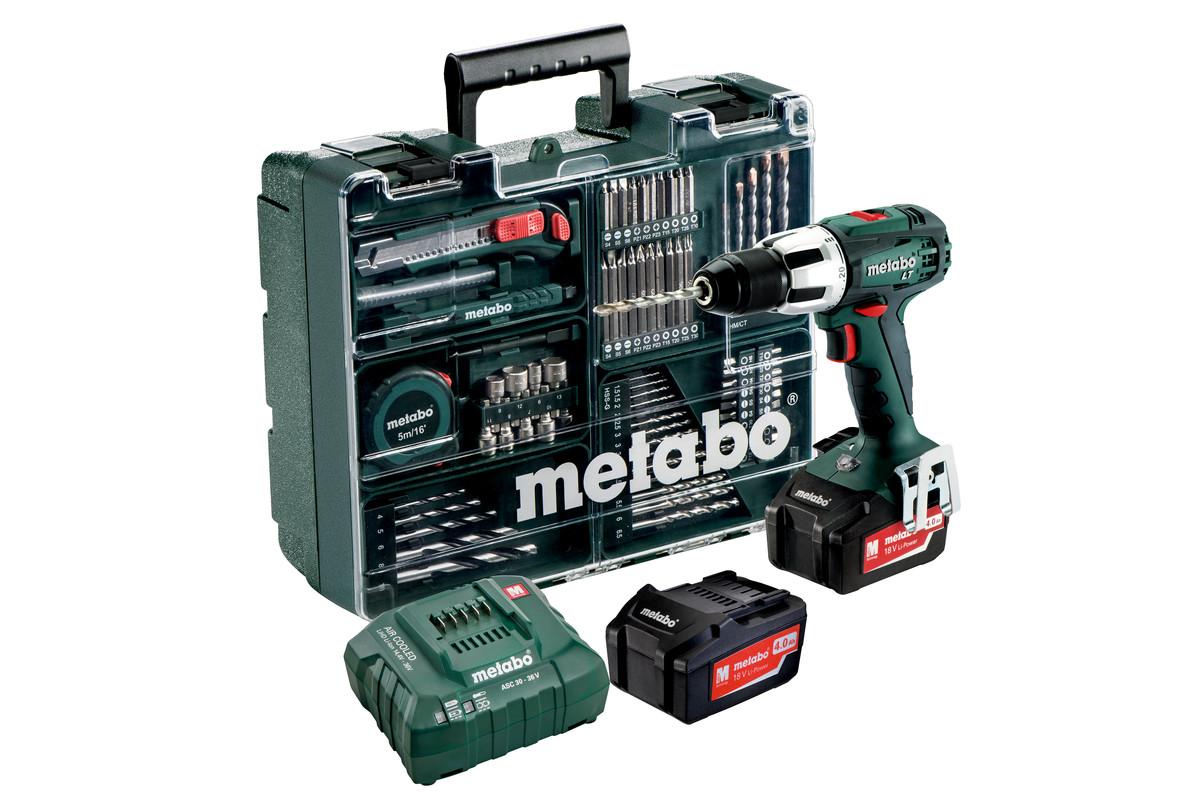 SB 18 LT Set (602103640) Akumulatorowa wiertarka udarowa