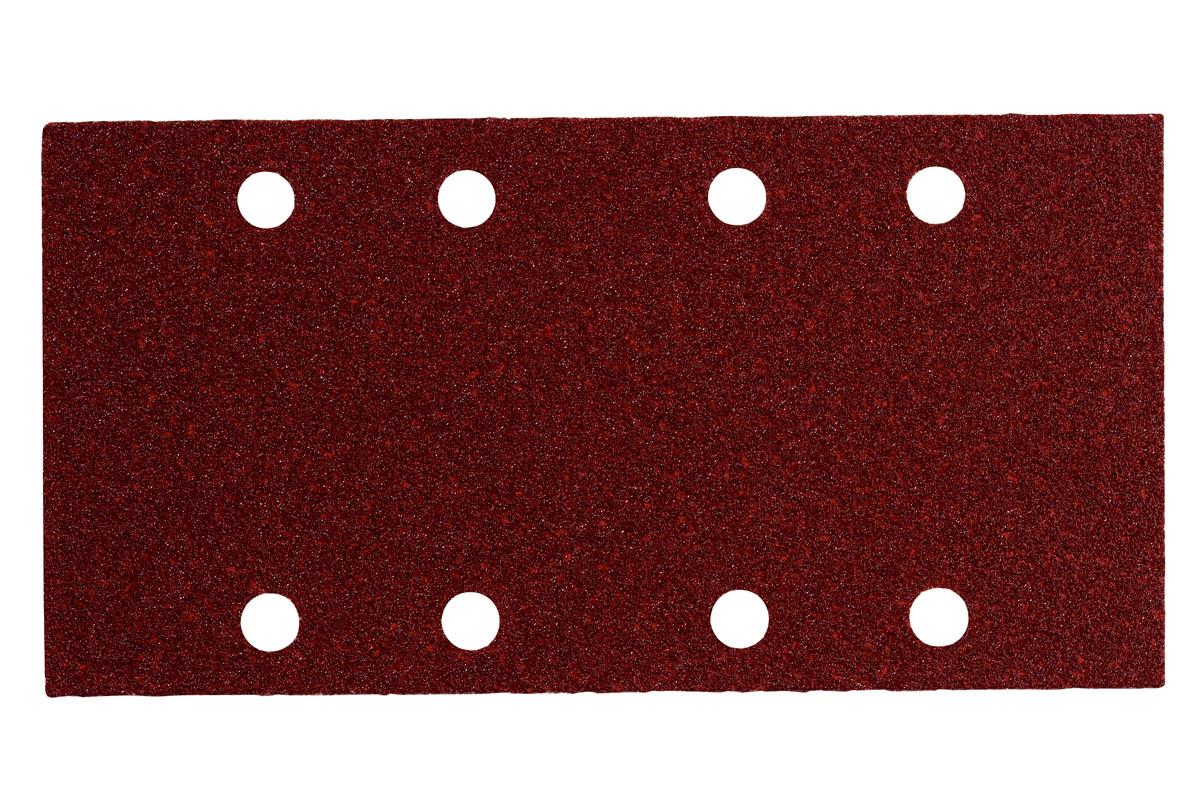 10 samoprzyczepnych arkuszy szlifierskich 93x185 mm, P 80, drewno+metal, SR (625767000)