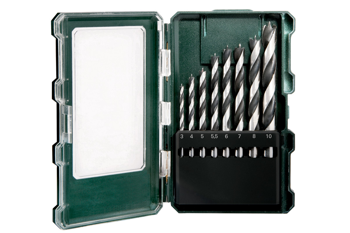 Kaseta z wiertłami do drewna SP 8 części (626705000)