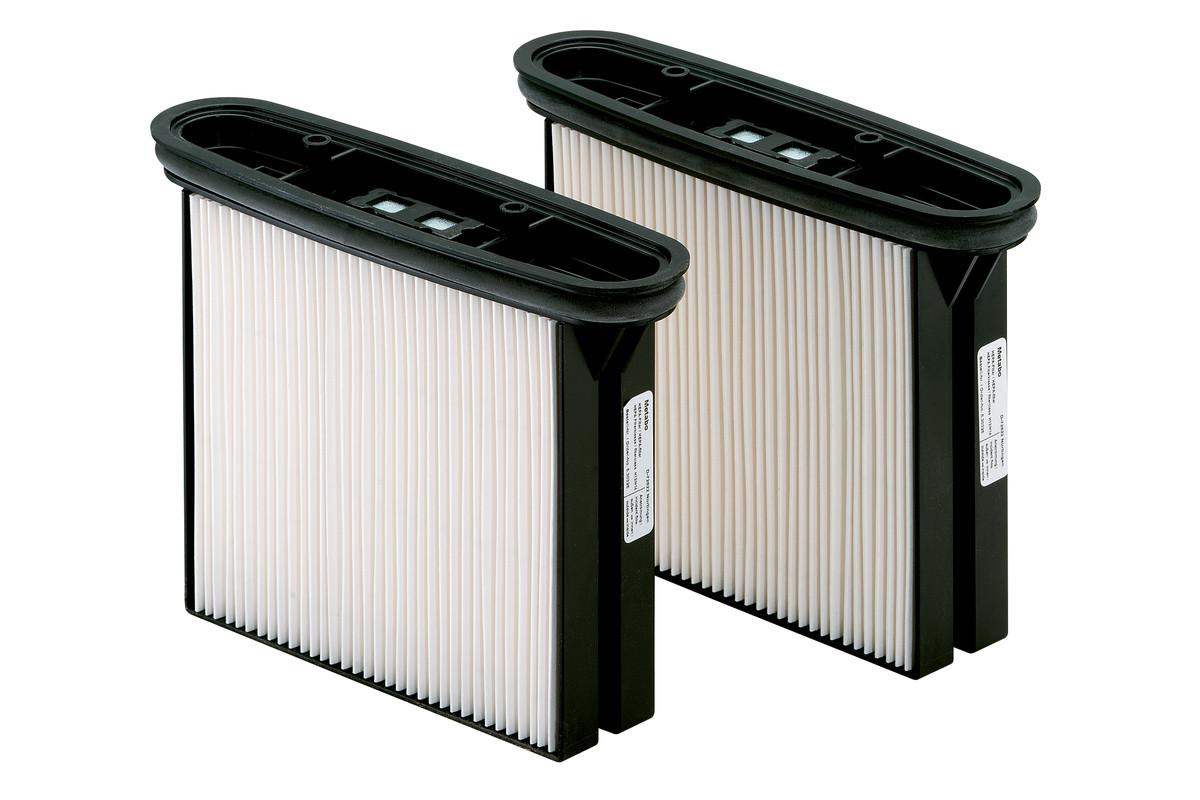 2 filtry kasetowe HEPA, poliester, klasa pyłów H (HEPA 14) (630326000)