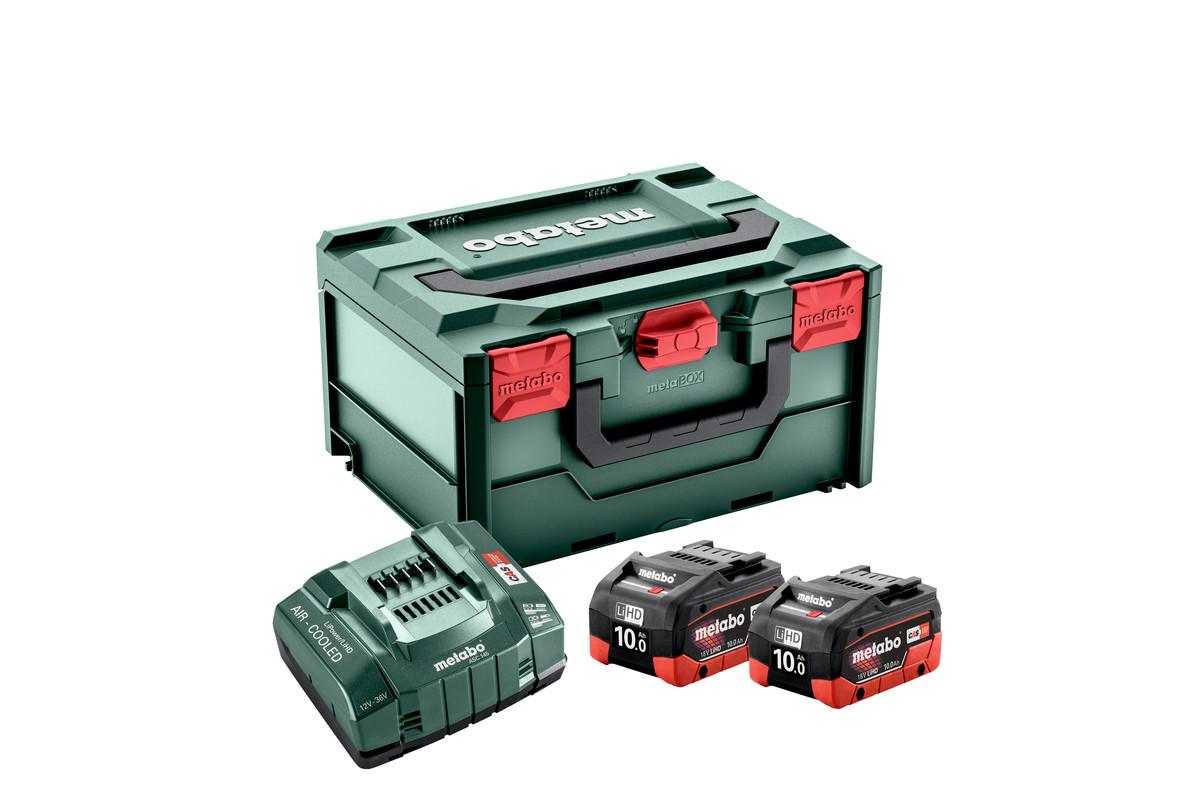 Zestaw podstawowy 2x LiHD 10 Ah + ASC 145 + metaBOX (685142000)