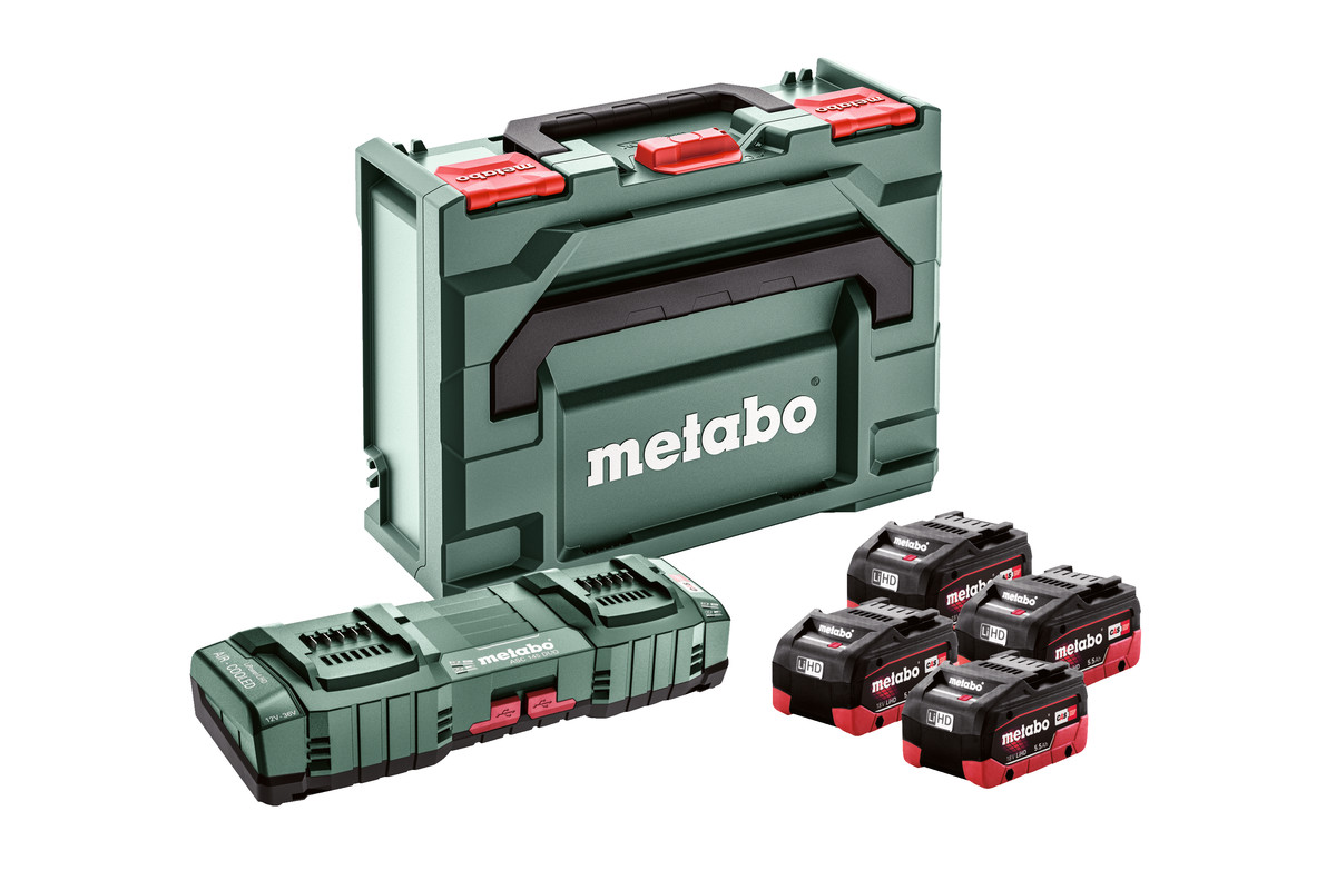 Zestaw podstawowy 4x LiHD 5,5Ah ASC 145 DUO + ML (685180000)