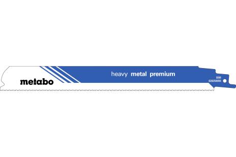 2 brzeszczoty szablaste, metal, pro. pre., 225x0,9mm (628258000)
