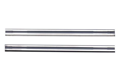 2 noże strugarskie z węglików spiekanych, odwracane do Ho (630282000)