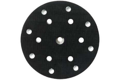 Talerz podporowy 150 mm, śr. twardy, dziurkowany, 6/8 otworów (631150000)