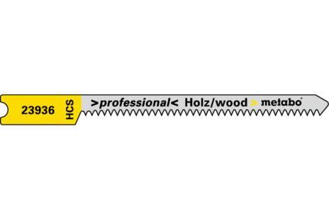 """5 U-brzeszczotów, drewno, seria """"professional"""" 52 / 1,3mm (623936000)"""