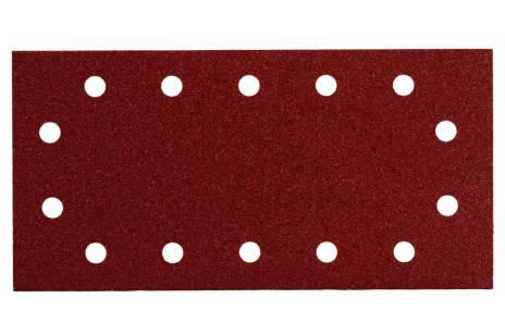 10 samoprzyczepnych arkuszy szlifierskich 115x230 mm, P 40, drewno+metal, SR (625786000)
