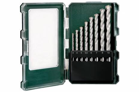 Kaseta z wiertłami do kamienia SP 8 części (626706000)