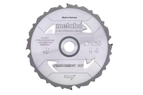 """Piła tarczowa """"fibercement cut – professional"""", 160x20 Z4 DFZ 5° (628287000)"""