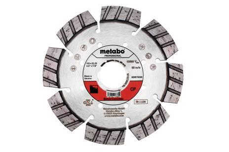 """Diamentowa tarcza tnąca 115x22,23 mm, """"CP"""", do betonu """"professional"""" (628570000)"""