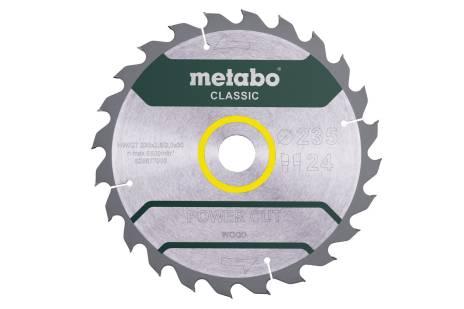 """Piła tarczowa """"power cut wood – classic"""", 235x30, Z24 WZ 18° (628677000)"""
