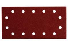 10 samoprzyczepnych arkuszy szlifierskich 115x230 mm, zestaw, drewno+metal, SR (625795000)
