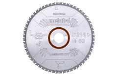 """Piła tarczowa """"laminate cut – professional"""", 254x30 Z66 FZ/TZ 0° (628446000)"""