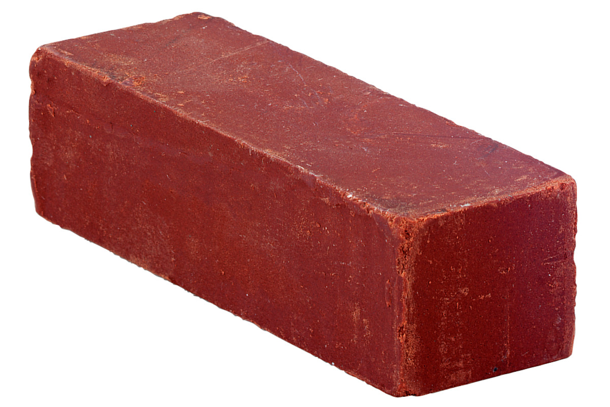 Полировальная паста коричневая, брусок весом прибл. 250 г (623522000)