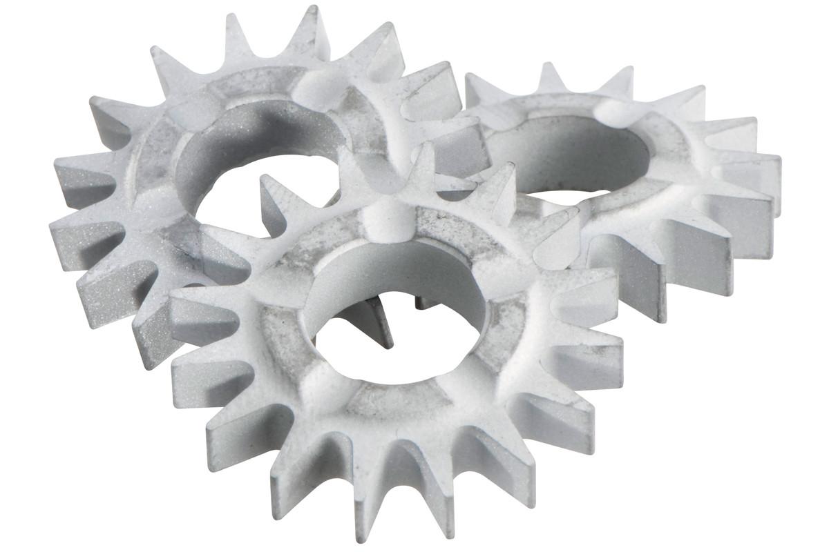 15 фрезерных звездочек с остроконечным зубом (628211000)