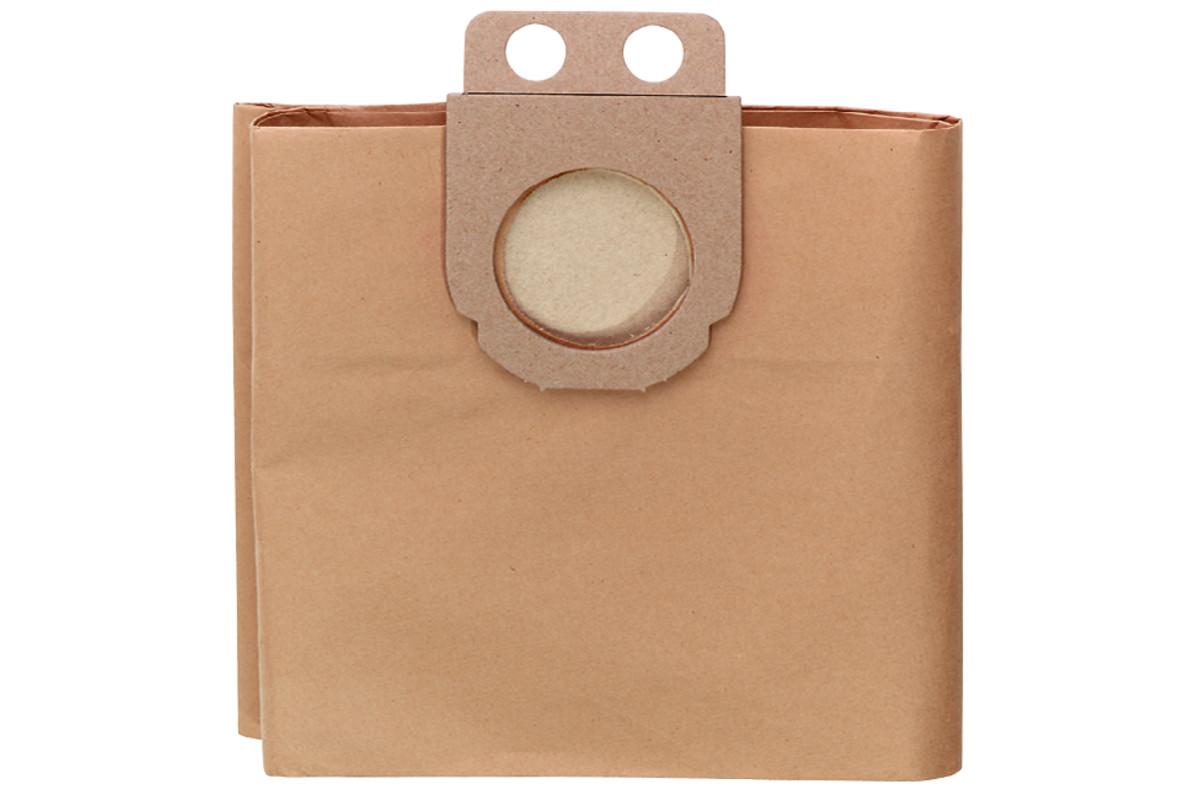 5 бумажных фильтровальных мешков, 20 л, для AS 1200/ASA 1201/AS 20L (631754000)